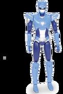 Blue Miniforce X Ranger Figure
