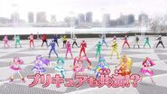 Three generation of Super Sentai & Precure dancing the Ryusoulger song.