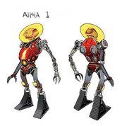 Alpha 1 Dan Mora sketch