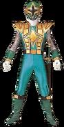 Green Samurai Storm Ranger