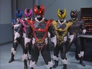 Psycho Rangers returns