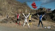Super Hero Taisen Epilogue Scene