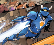 Exosuit Blue Ranger