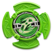 Green Shuriken (Igasaki-clan emblem only)