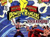 Mighty Morphin Power Rangers: Ninja Rangers Issue 5