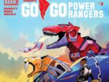 Go Go Power Rangers Issue 2