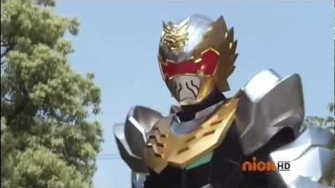 Power Rangers Megaforce - Robo Knight Morph