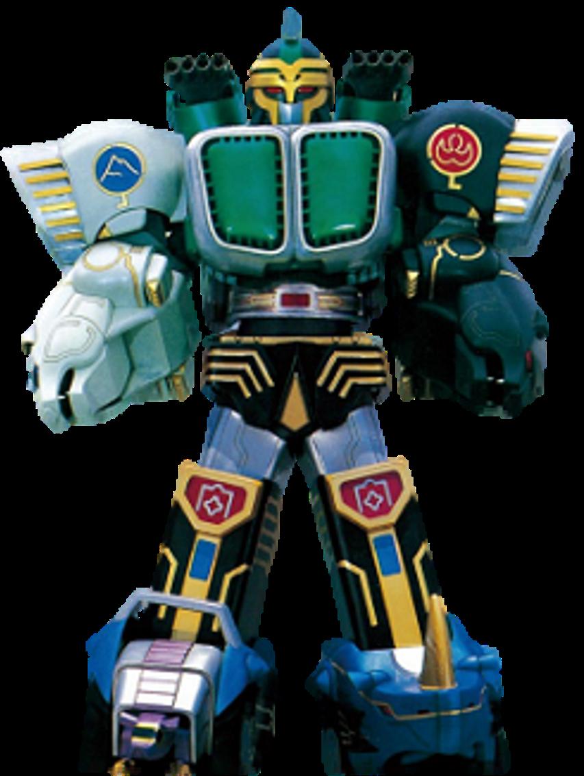 "Power Rangers Megazord ACTION FIGURE 5/"" kongazord Wild Force Konga Zord"