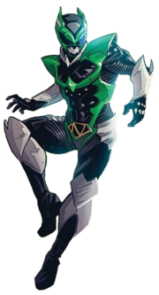Psycho Green Full Body