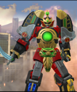 Legacy Wars Thunder Megazord Victory Pose