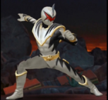 Legacy Wars White Dino Thunder Ranger Victory Pose