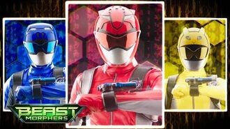 Power Rangers Official - Power Rangers Beast Morphers Morph Sequence