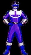 Blue Time Force Ranger