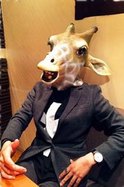 Saburo Yatsude Giraffe Zyuman