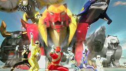 Hundred Beast Squadron Growl Rangers