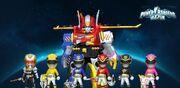 Power Rangers Megaforce in Power Rangers Dash