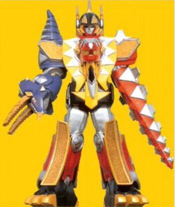 Thundersaurus Megazord