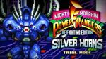 Mighty Morphin Power Rangers The Fighting Edition (SNES) - Trial Mode - Silver Horns Gameplay