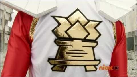 Power Rangers Super Samurai - Super Samurai Red Transformation (HD)