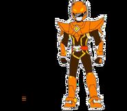 Orange Miniforce Ranger