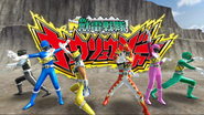 Zyuden Sentai Kyoryuger with KyoryuRed Carnival in Super Sentai Legend Wars