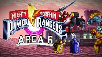 Mighty Morphin Power Rangers (SNES) - Area 6