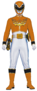 Orange Megaforce Ranger