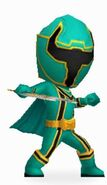 Green Mystic Ranger in Power Rangers Dash