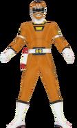Orange Turbo Ranger