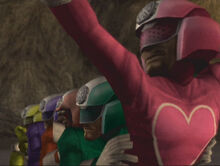 List of references to Power Rangers/Super Sentai