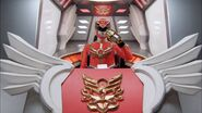 Gosei Red cockpit