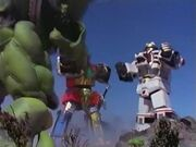10 Repellator vs Thunder Megazord and Tigerzord WM