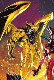 Boom Dark Yellow Ranger
