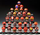 Super Sentai Mask Collection