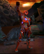 Legacy Wars Red Ranger 2017 Movie Victory Pose