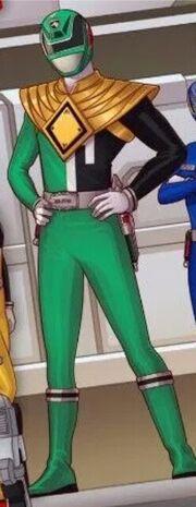 S.P.D. Green Dragon JJ