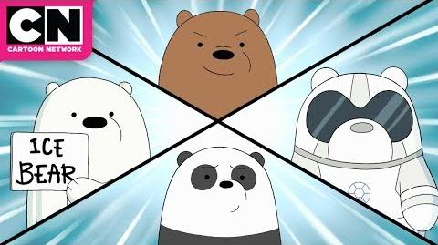 We Bare Bears Baby Bear Rangers Cartoon Network
