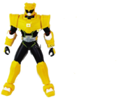 Yellow Miniforce Ranger Figure