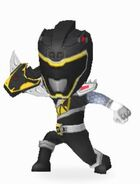 Black Dino Charge Ranger Armored On In Power Rangers Dash