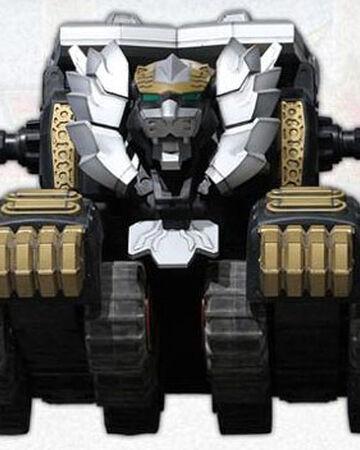 """Power Rangers MEGAFORCE  ~ Robo Knight Ranger 4/"""" Figure with Gold Mega Blaster"""
