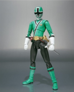 Green Samurai Ranger SH Figuarts