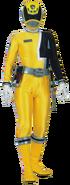 Yellow Space Patrol Delta Ranger
