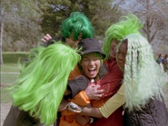 Time force green wigs