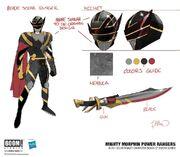 Black Solar Ranger concept