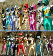 Kyoryugers teams