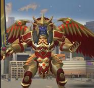 Legacy Wars Mega Goldar Victory Pose
