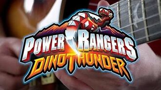 Power Rangers Dino Thunder Theme on Guitar