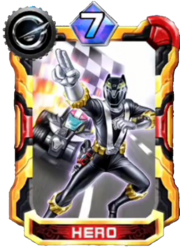 Go-on Black Card in Super Sentai Legend Wars