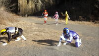 Gokai Change-dash