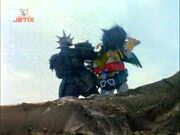 Loyax and Megazord